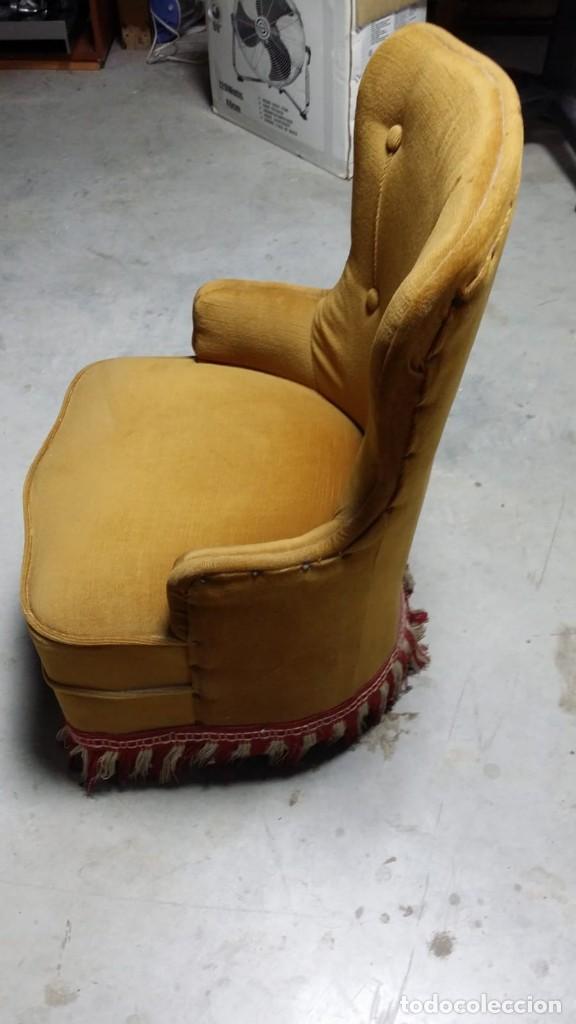 Antigüedades: silla calzadora, sillòn calzador - Foto 7 - 132741550