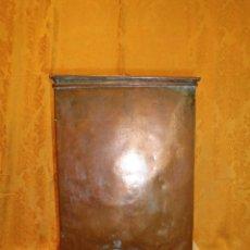Antigüedades: DEPOSITO DE COBRE PARA AGUA. Lote 132771590