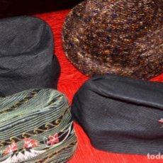 Antigüedades: LOTE DE CUATRO SOMBREROS ANTIGUOS DE MUJER (POSIBLEMENTE AÑOS 20-30). Lote 132788654