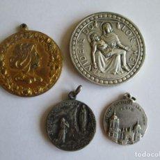 Antigüedades: LOTE DE 4 MEDALLAS. Lote 132793894