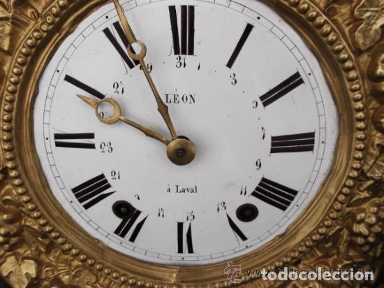Léon Reloj Comtoise Laval Á Morez 7ybgf6