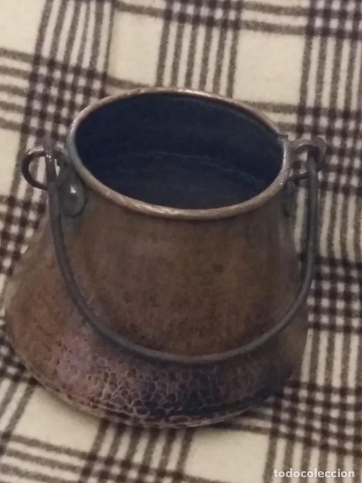 ANTIGUA OLLA MARMITA DE COBRE (Antigüedades - Técnicas - Rústicas - Utensilios del Hogar)