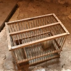 Antigüedades: JAULA ANTIGUA. Lote 132805413