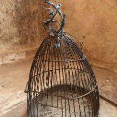 Antigüedades: JAULA ANTIGUA. Lote 132805454