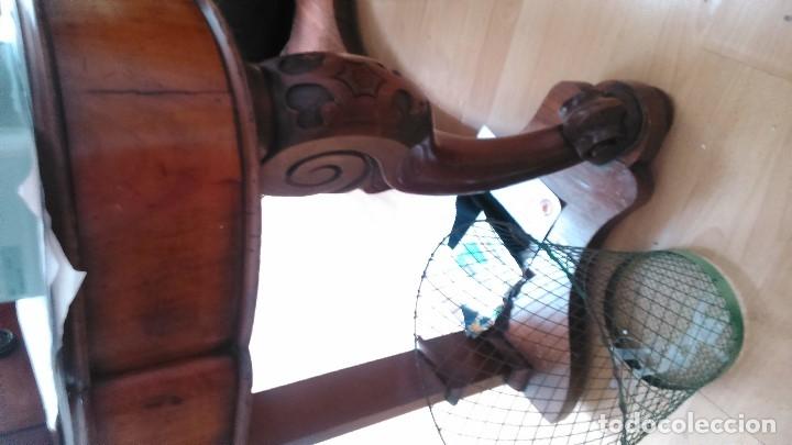 Antigüedades: Escritorio Fernandino de caoba por sólo ochocientos cincuenta euros - Foto 5 - 118152075