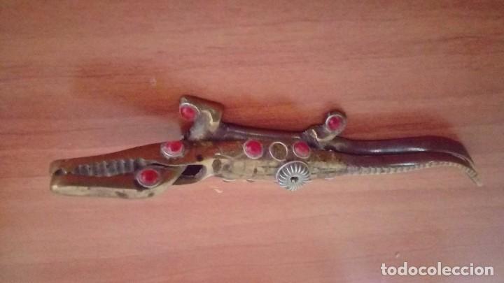 Antigüedades: Vintage tortuga y lagarto en bronce antiguo - Foto 3 - 132822126