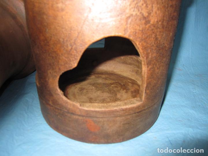 Antigüedades: ANTIGUO BEBEDERO DE BARRO AÑOS 50 PARA PAJAROS PALOMAS O AVES - Foto 8 - 132840710