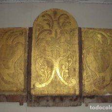 Antigüedades: CAPILLA O ALTAR DE CAMPAÑA S.XVIII. Lote 132879042