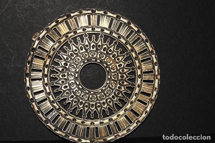 CORONA DE PLATA - AÑOS 1900 (Antigüedades - Religiosas - Orfebrería Antigua)