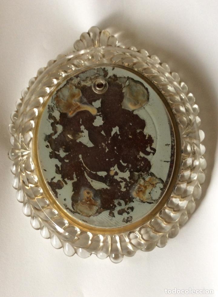 Antigüedades: Precioso marco en cristal para miniatura - Foto 2 - 132827926
