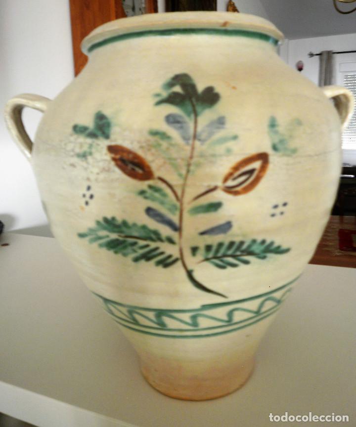 Antigüedades: Orza de cerámica andaluza. - Foto 2 - 132918810