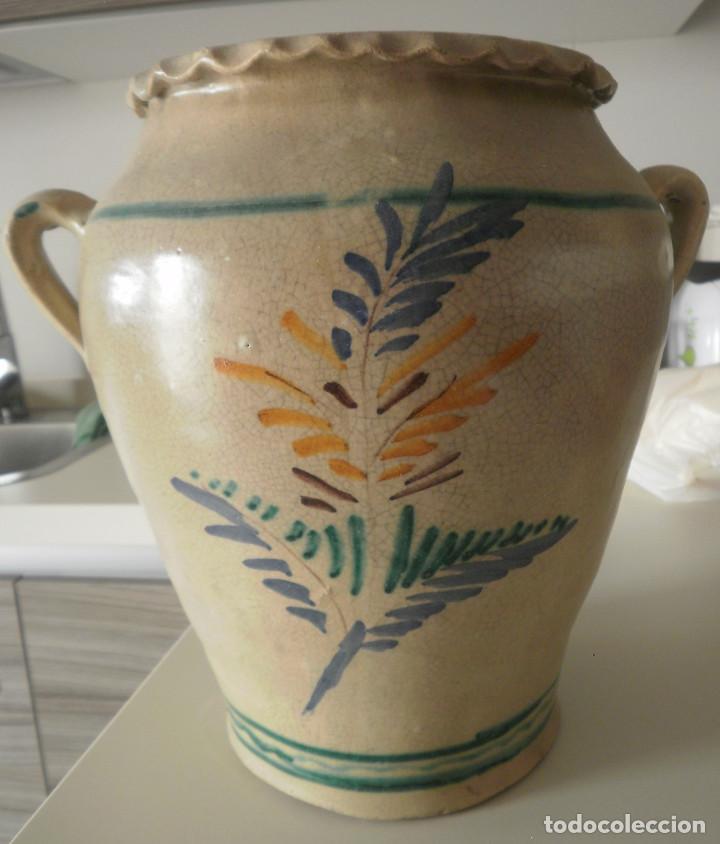 Antigüedades: Orza de cerámica. - Foto 3 - 132920366