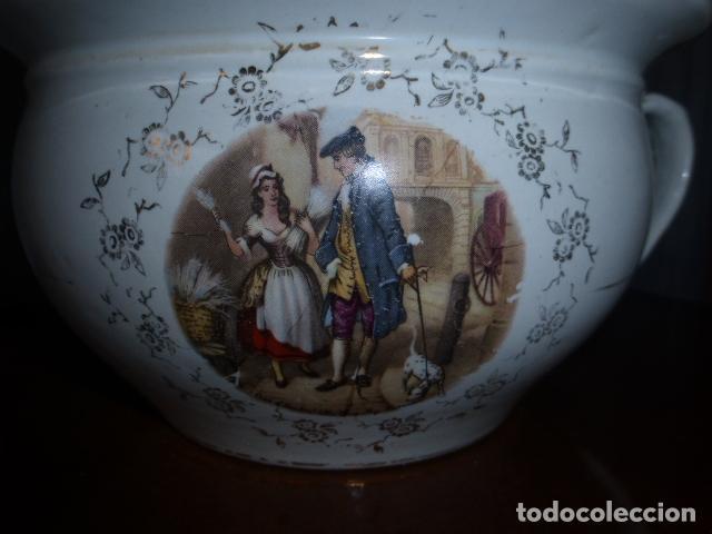 ANTIGUA ESCUPIDERA U ORINAL DE LA CARTUJA, PICKMAN (Antigüedades - Porcelanas y Cerámicas - La Cartuja Pickman)