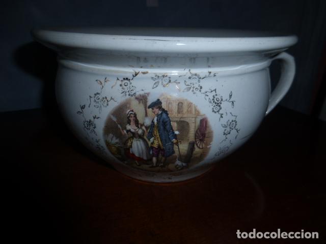 Antigüedades: ANTIGUA ESCUPIDERA U ORINAL DE LA CARTUJA, PICKMAN - Foto 2 - 132934494