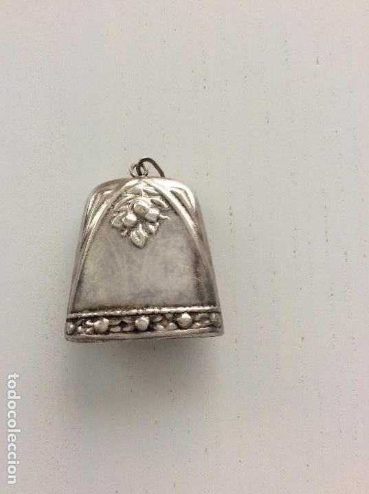Antigüedades: Sonajero de plata de ley siglo XIX - Foto 2 - 132989114