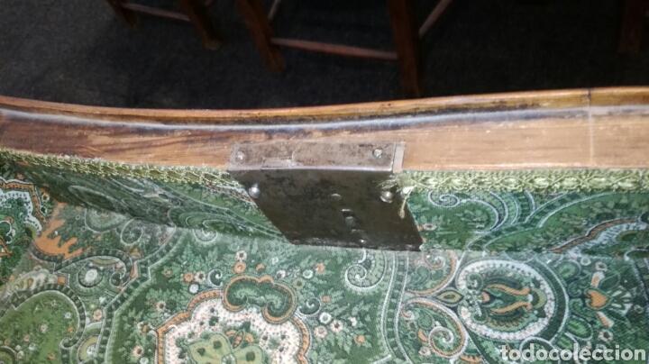 Antigüedades: Comoda escritorio con secreter de nogal siglo XVIII - Foto 8 - 133022665
