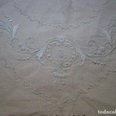 Antigüedades: BORDADO CENTRAL DELANTERO PARA CAMISA O CAMISÓN. Lote 133037042