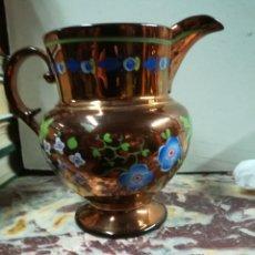 Antigüedades: JARRA DE REFLEJOS INGLESA XIX. Lote 133045551