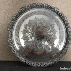 Antigüedades: SALVILLA PORTUGUESA DE PLATA. Lote 133118978