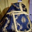 Antigüedades: ESPLENDIDA CAPA PLUVIAL EN NEGRO Y ORO DE LA FÁBRICA DE ESPOLIN M. GARIN HIJOS. Lote 133132694