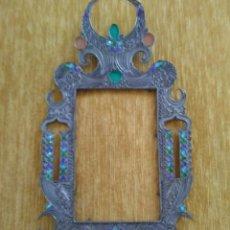 Antigüedades: MARCO EN METAL. Lote 133139814