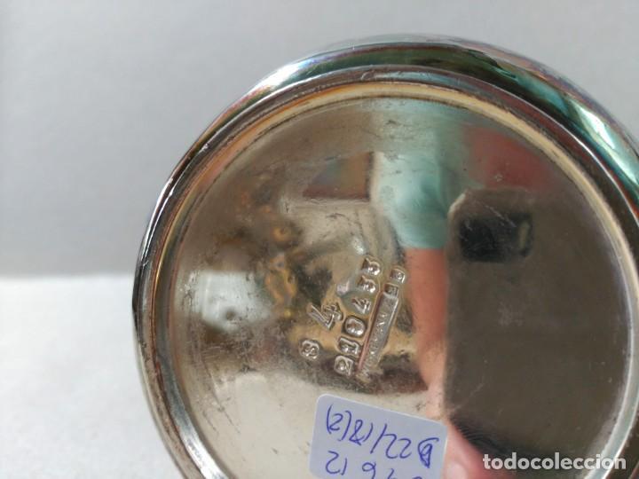 Antigüedades: JUEGO DE CAFE / TE METAL PLATEADO 3 PIEZAS - Foto 12 - 133147642
