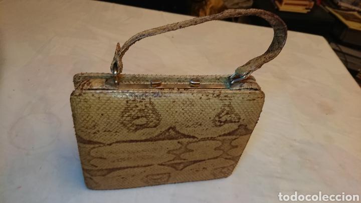 serpiente piton de en auténtic bolso hecho piel Comprar PxqapIIXw