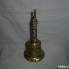 Antigüedades: CAMPANA DE BRONCE GIRALDA. Lote 133178554