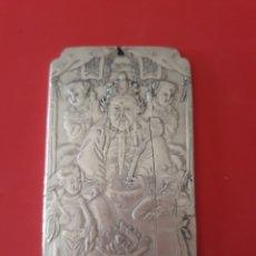 Antigüedades: EXCLUSIVO Y ANTIGUO LINGOTE DE PLATA TIBETANA. Lote 133183685