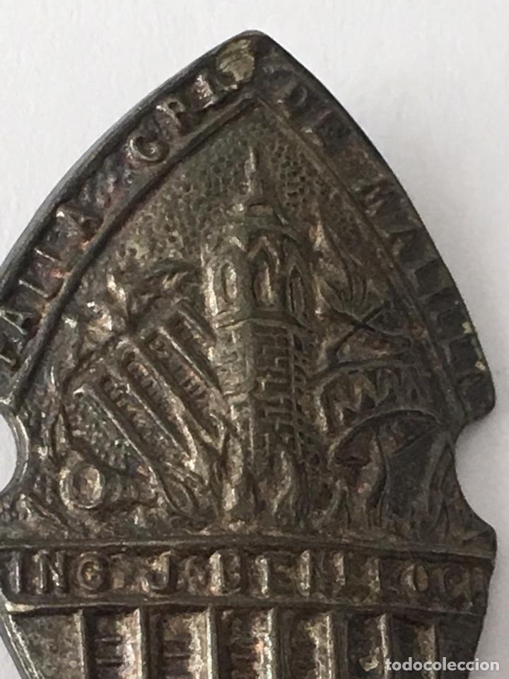 Antigüedades: Pin fallero plata de ley Grao de malilla medida 2x4cm - Foto 2 - 133186431