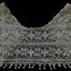 Antigüedades: ANTIGUA CAPELINA DE ENCAJE S.XIX. Lote 133144742
