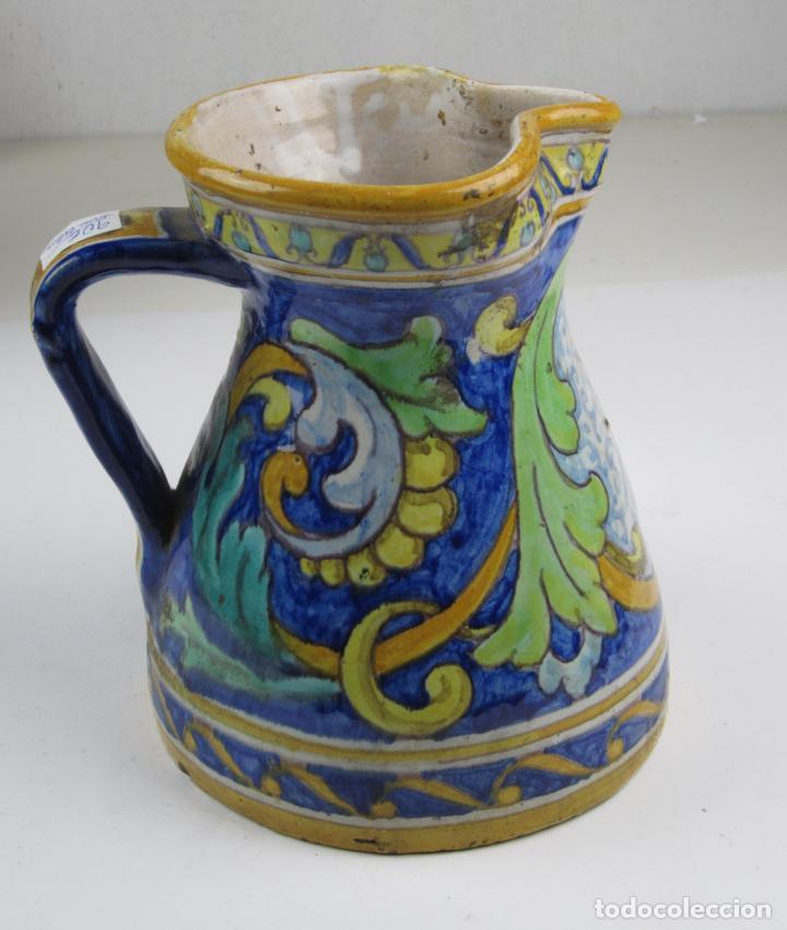 JARRA DE TALAVERA, 21 CM DE ALTURA (Antigüedades - Porcelanas y Cerámicas - Talavera)