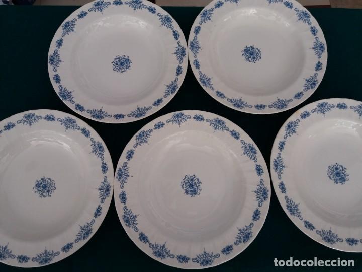 PLATOS CERAMICA PONTESA AÑOS 50 (Antigüedades - Porcelanas y Cerámicas - Otras)