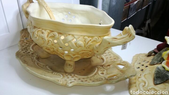Antigüedades: Sopera muy bonita completa y en buen estado - Foto 6 - 133201413