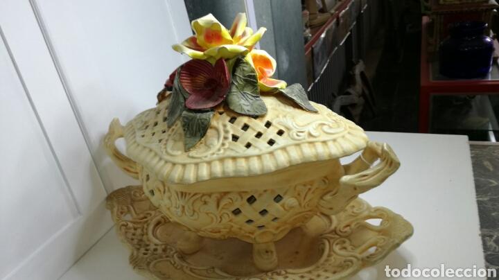 Antigüedades: Sopera muy bonita completa y en buen estado - Foto 7 - 133201413