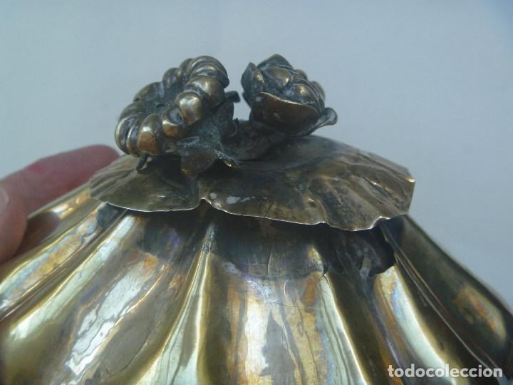 Antigüedades: MUY ANTIGUO JOYERO DE ALPACA ( PORQUE NO CREO QUE SE PLATA ) O SIMILAR - Foto 5 - 133210866
