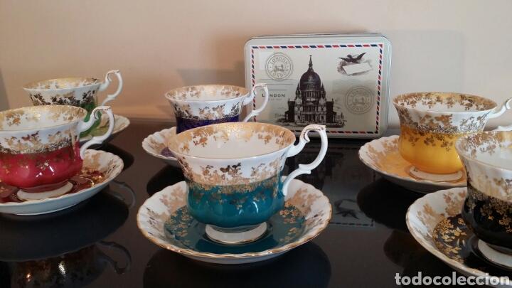 Antigüedades: Juego de té Royal Albert años 70 - Foto 2 - 133221615