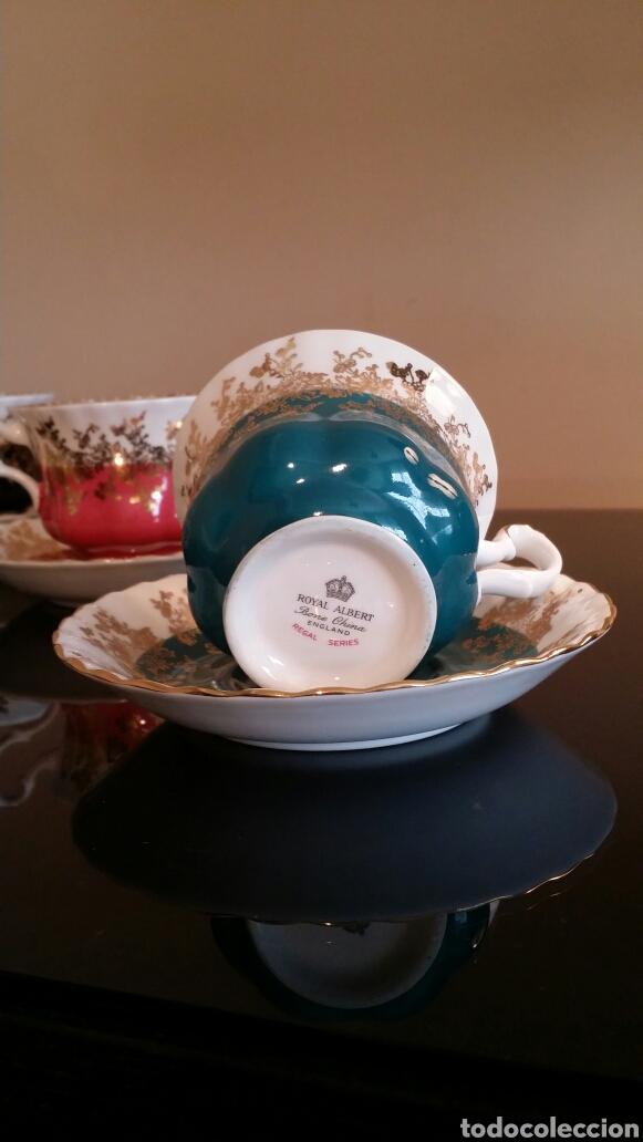 Antigüedades: Juego de té Royal Albert años 70 - Foto 3 - 133221615