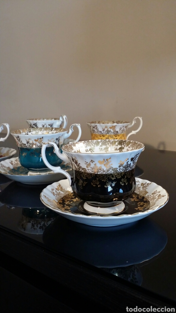Antigüedades: Juego de té Royal Albert años 70 - Foto 4 - 133221615