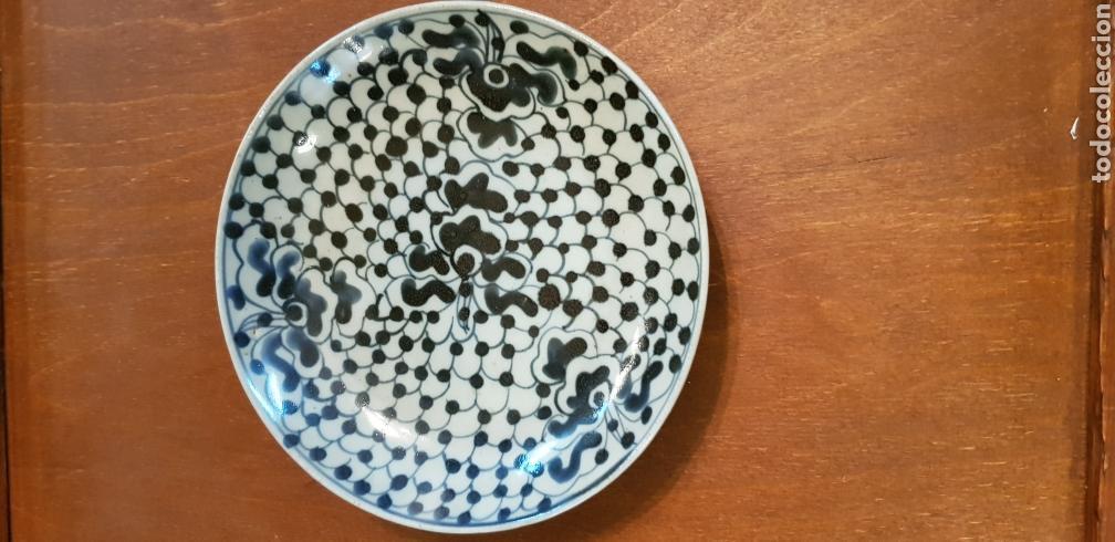 ANTIGUO PLATO EN PORCELANA CHINA (Antigüedades - Porcelanas y Cerámicas - China)