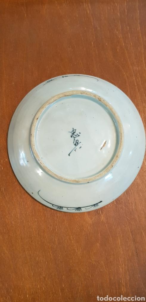 Antigüedades: ANTIGUO PLATO EN PORCELANA CHINA - Foto 2 - 133229071