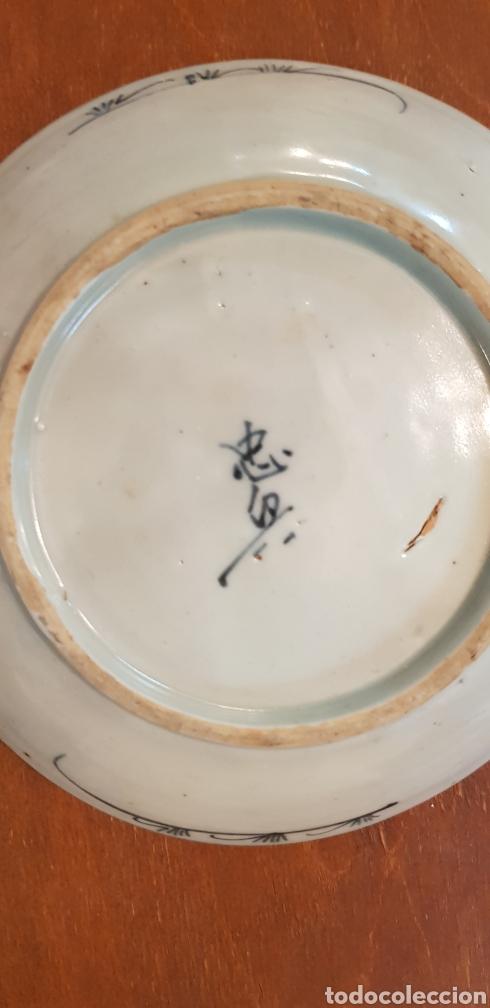 Antigüedades: ANTIGUO PLATO EN PORCELANA CHINA - Foto 4 - 133229071