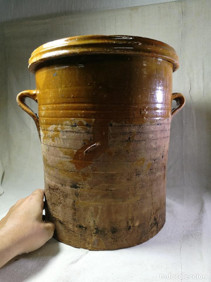 ALFARERIA CATALANA POPULAR----QUESERA BAILÉN --JAEN ..MEDIADOS SIGLO -XX-- (Antigüedades - Porcelanas y Cerámicas - Úbeda)