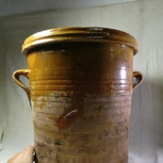 Antigüedades: ALFARERIA CATALANA POPULAR----QUESERA BAILÉN --JAEN ..MEDIADOS SIGLO -XX--. Lote 133229618