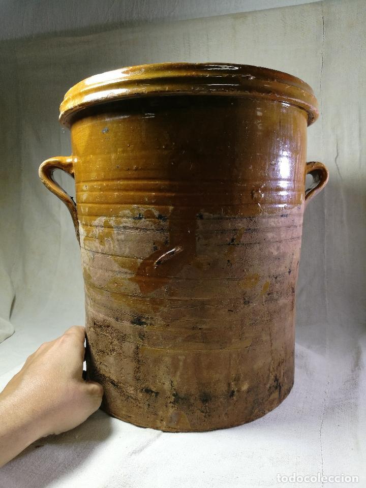 Antigüedades: ALFARERIA CATALANA POPULAR----QUESERA BAILÉN --JAEN ..MEDIADOS SIGLO -XX-- - Foto 8 - 133229618