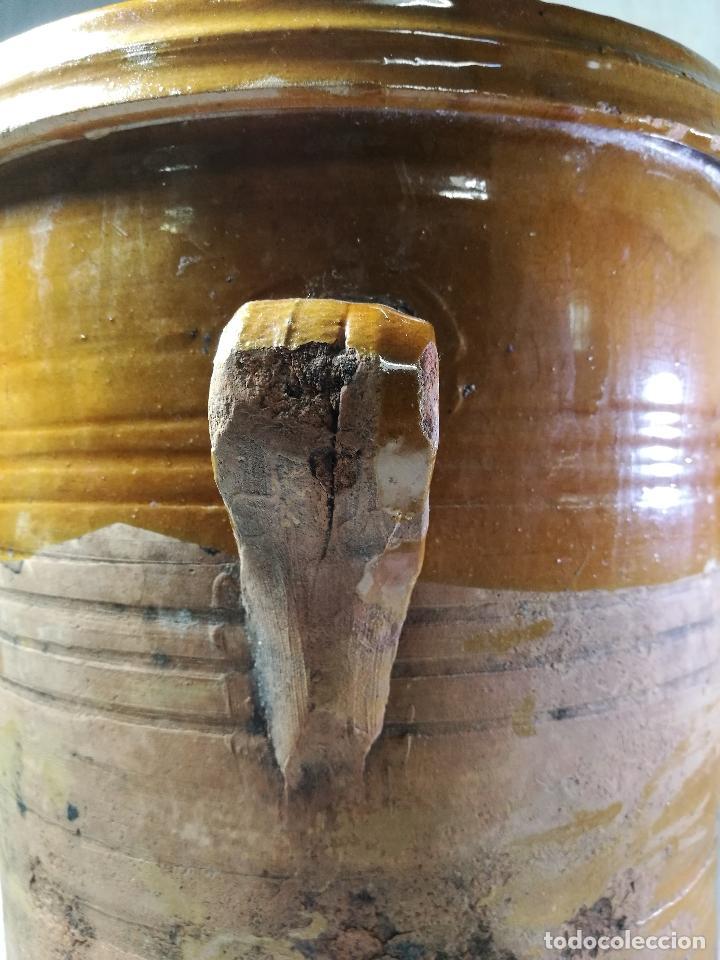 Antigüedades: ALFARERIA CATALANA POPULAR----QUESERA BAILÉN --JAEN ..MEDIADOS SIGLO -XX-- - Foto 9 - 133229618