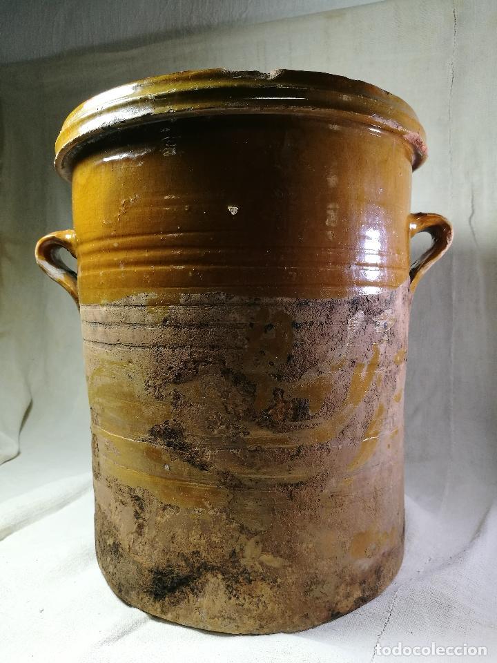 Antigüedades: ALFARERIA CATALANA POPULAR----QUESERA BAILÉN --JAEN ..MEDIADOS SIGLO -XX-- - Foto 14 - 133229618