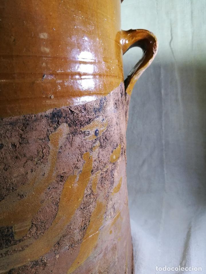 Antigüedades: ALFARERIA CATALANA POPULAR----QUESERA BAILÉN --JAEN ..MEDIADOS SIGLO -XX-- - Foto 16 - 133229618