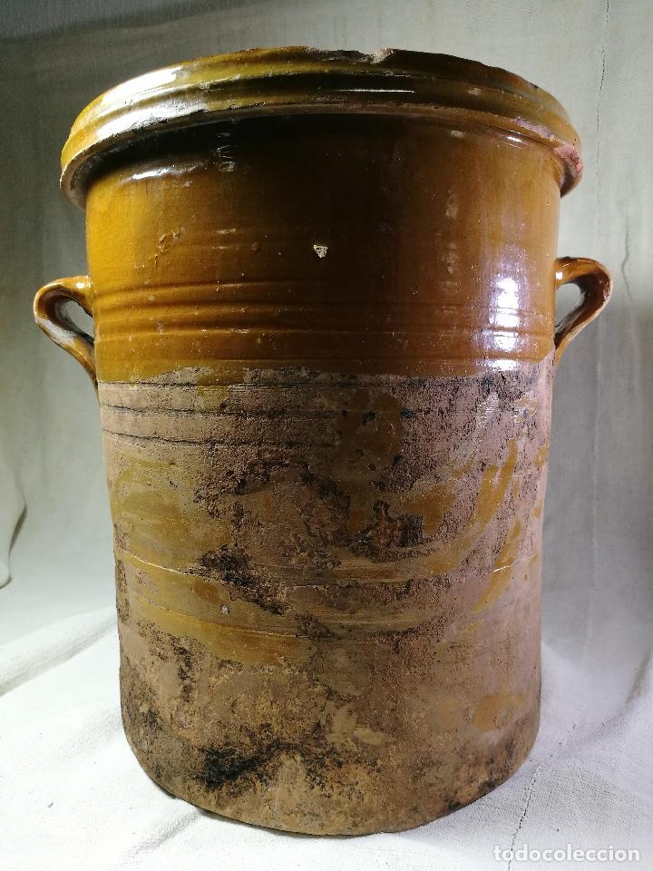 Antigüedades: ALFARERIA CATALANA POPULAR----QUESERA BAILÉN --JAEN ..MEDIADOS SIGLO -XX-- - Foto 19 - 133229618