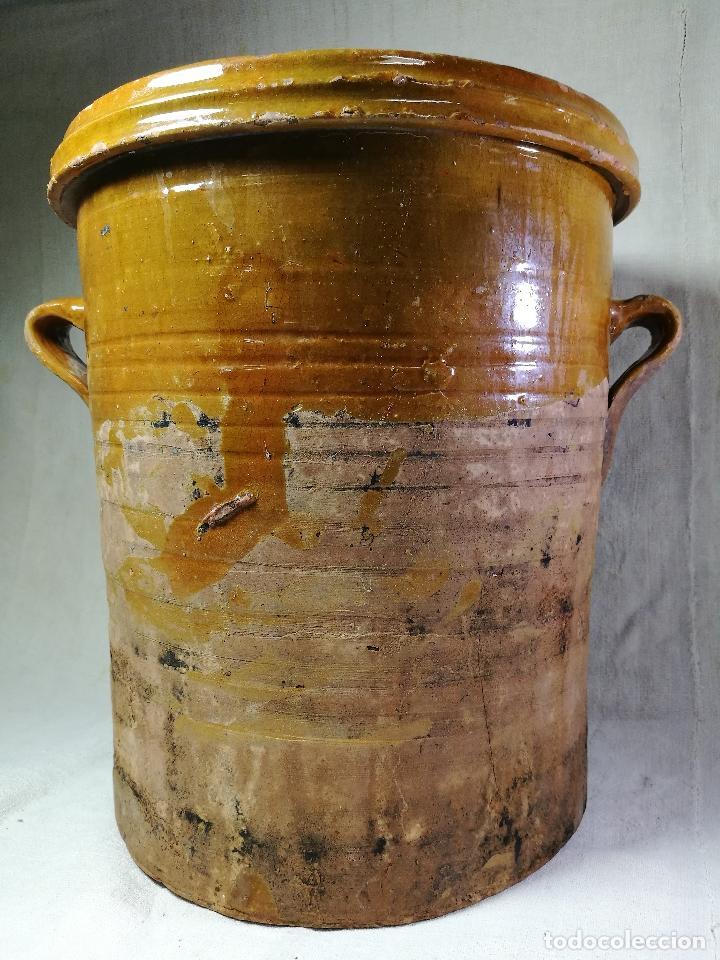 Antigüedades: ALFARERIA CATALANA POPULAR----QUESERA BAILÉN --JAEN ..MEDIADOS SIGLO -XX-- - Foto 28 - 133229618